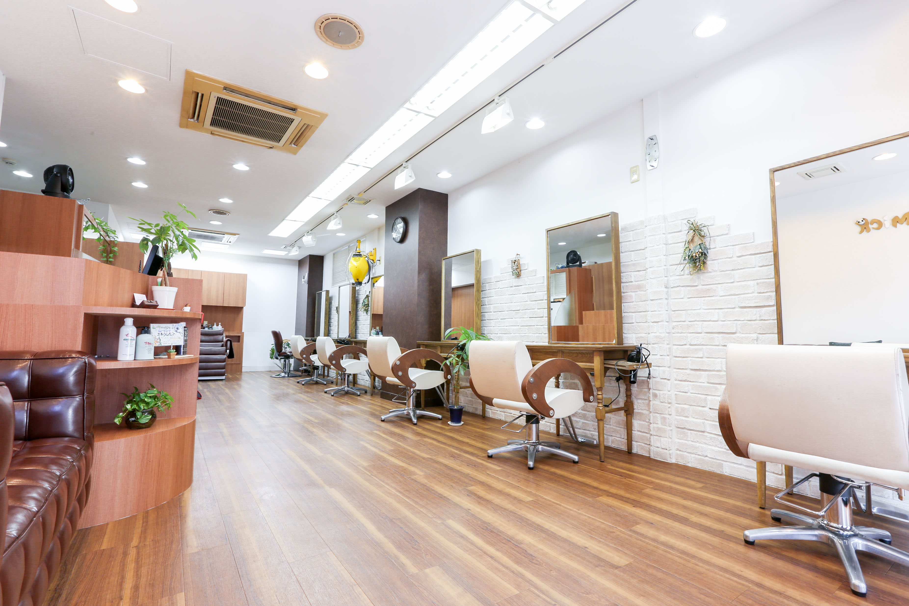 北千住 Hair Salon Gimick 店内